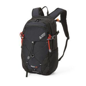 Terra Peak Flex 20 schwarz Wanderrucksack 20L mit YKK Reißverschluss und atmungsaktives 3D Air Mesh Polyester Premium Trekkingrucksack Daypack Halterung für Trinksystem und mit abnehmbarem Hüftgurt
