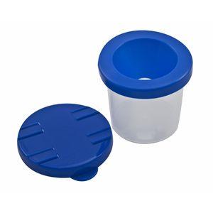 EDUPLAY EDU240001 Pinselbecher mit Auslaufschutz (Farbe zufällig, 1 Stück)