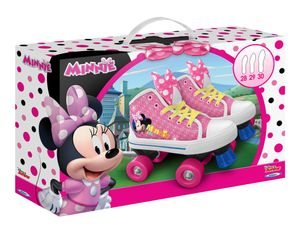 Disney rollschuhe Minnie Maus Mädchen rosa/weiß