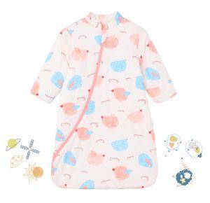 Baby Schlafsack Winter, Abnehmbare Ärmel, warm gefüttertWinter Schlafsäcke Jungen Mädchen Schlafsack für Kleinkinder Geeignet für Babys von 110-125cm