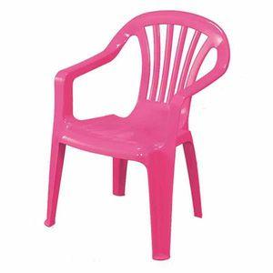 Kinder Gartenstuhl / Kinderstuhl Kunststoff pink