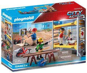 PLAYMOBIL City Action 70446 Baugerüst mit Handwerkern