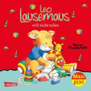Maxi Pixi 257 - Leo Lausemaus will nicht teilen