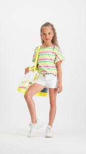 VINGINO Mädchen T-Shirt Tunika ILENE neon pink Gr.140