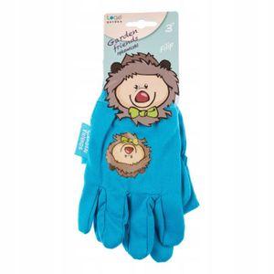 Kinderhandschuhe Gartenhandschuhe blau Philipp 7″