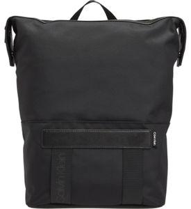 Calvin Klein - Nastro logo trapezee backpack - Herren - black