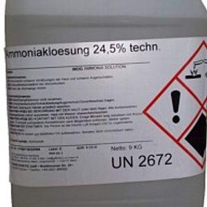 Salmiakgeist  25 % - 10 Liter
