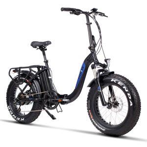 Fitifito klappbar Fatbike FT20 20 Zoll Elektrofahrrad E-Bike Pedelec 48V 250W Bafang casstte Heckmotor, 48v 13Ah Samsung Akku, hydraulische Bremse