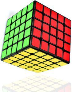 Zauberwürfel 5x5, Speed Cube 5x5 Puzzle Würfel Spielzeug Schwarz