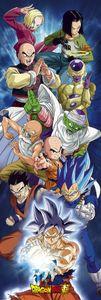 Dragon Ball Super Poster Group Langbahnposter 158 x 53 cm