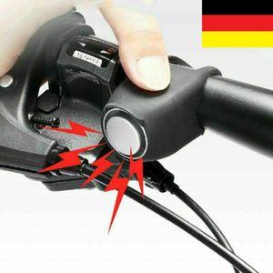 Melario Fahrrad Elektrische Klingel 120db Glocke Fahrradhorn Fahrradhupe Wasserdicht