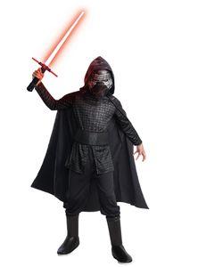Luxus Kylo Ren-Kinderkostüm Star Wars IX schwarz-grau