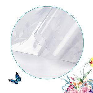 Klare tischdecke transparente tischdecke tischdecke schutz tischauflage matte pvc wasserdicht fuer kueche esszimmer tischdekoration