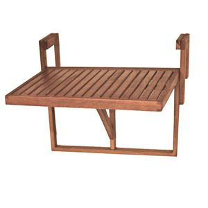 Garden Pleasure Balkon Hängetisch Esstisch Klapptisch Eukalyptus Holz