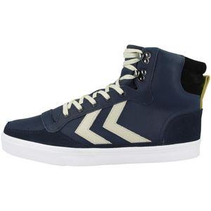Hummel Stadil Winter Sneaker Schuhe blau/weiß/schwarz 208964-7459, Schuhgröße:41 EU
