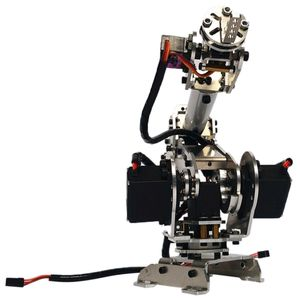 6 Dof Roboterarm Bausatz Mechanischer Roboter Arm aus Aluminium für Arduino