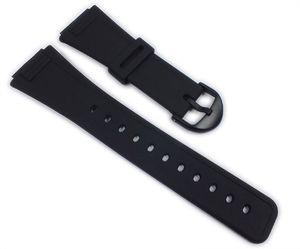 Casio Ersatzband Uhrenarmband Resin Band schwarz für AQ-47-1 AQ-47-7 AQ-47-9