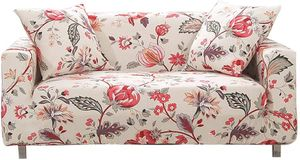 1-Stück Elastischer Sofabezug 2 Sitzer Sofa überzug Couch Cover Stretch Sofahusse Sofa Überwürfe Elastisch Couchbezug Schonbezug Couch Hussen