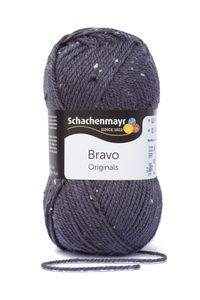 Schachenmayr Bravo, 9801211-08372, Farbe:Graublau Tweed, Handstrickgarne