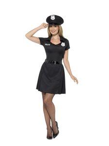 Damen Kostüm Polizistin Polizei Uniform Karneval Fasching Gr.M