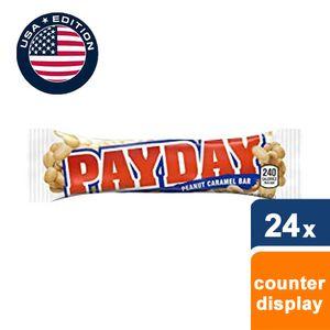 Hershey's - Payday Karamell-Riegel mit salzigen Erdnüssen - 24 Riegel