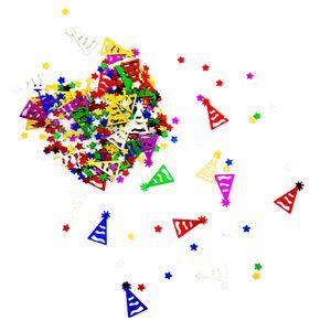 Oblique Unique Konfetti Sterne Partyhüte Tisch Deko für Kinder Geburtstag Party Schuleinführung über 300 Stk - bunt