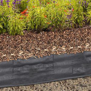 Rindenmulchfolie Gartenvlies 1,2x10m