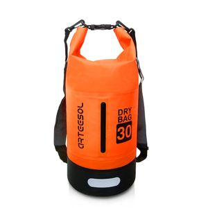 arteesol Dry Bag 30L Wasserdicht seesäcke Tasche Seesack Rollbeutel Packsack für Rafting Camping, Orange
