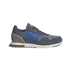 Adidas Herren Sneaker Sneaker Low Leder-/Textilkombination grau 43