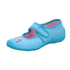 girlZ onlY Kinder Hausschuh 525 Blau