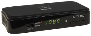 Sat-Receiver Opticum AX150 in Full HD 1080p, USB 2.0, HDMI, SCART, Koaxial