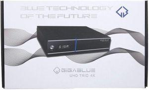 GigaBlue UHD TRIO 4K DVB-S2x  DVB-C/T2 Receiver Combo SAT IP / Kabel Multiroom