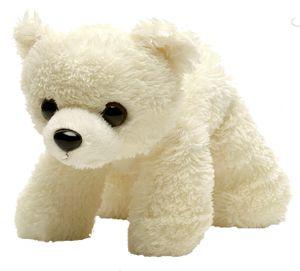 Wild Republic Hug'Ems kuscheltier: Eisbär 18 cm weiß