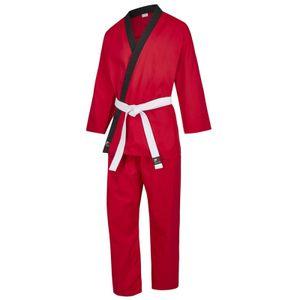 Phoenix PX CHALLENGE Karategi rot-schwarz Junior - Körpergröße: 140 cm