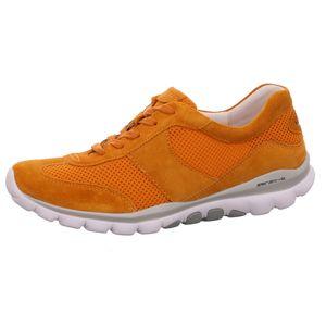 Gabor Comfort Schnürer Orange Größe 6.5, Farbe: orange