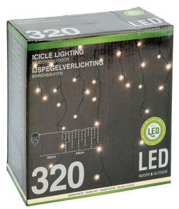 Eiszapfen Lichterkette mit 320 LED