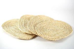 Tischset oval 30x45 cm Maisblatt S/4