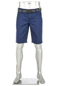 Alberto Herren Golfshorts Shorts Earnie D WR Revolution, Farbe:Blau(860), Größe:48