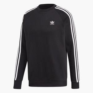 adidas Originals Pullover für Herren Rundhals, Größe:M, Farbe:Schwarz
