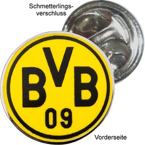 Borussia Dortmund BVB-Pin Logo, rund
