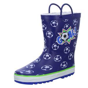 Sneakers Kinder Gummistiefel J19 Blau