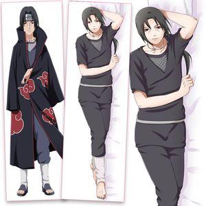 Neuer Anime Naruto Hugging PillowCase Cartoon Uchiha Sasuke Itachi Hatake Kakashi Hugging Home Body Kissenbezug --S