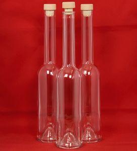 OPI-HGK-200 10 x 200 ml GLASFLASCHEN-Likörflaschen OPI-HGK Schnapsflaschen Saft-Flasche leer