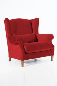 Max Winzer Harvey Big-Sessel - Farbe: ziegel - Maße: 115 cm x 95 cm x 117 cm; 30001-1100-2044276-F01