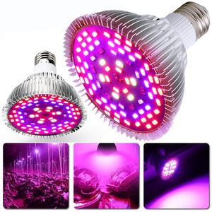 50W E27 78 LED Pflanzenlampe Pflanzenlicht Zimmerpflanzen Wachstumslampe Full Spectrum Grow Lampe