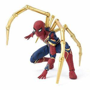 17CM PVC Spider Man Action Figuren Spielzeug Modell