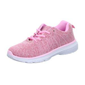 Sneakers Mädchen-Sneaker Pink, Farbe:rot, EU Größe:34