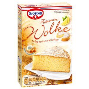 Dr. Oetker Zitronen Wolke Kuchenbackmischung für einen Rührkuchen 430g