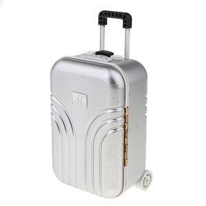 Koffer Music Box Schmuck Lagerung Rotierende Ballerina Mädchen Für Kinderspielzeug Geschenk Farbe Silber