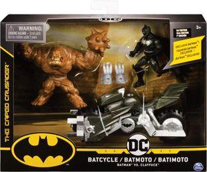 Spin Master 13471 BAT Batman - Batcycle mit 2 x 10 cm Figuren